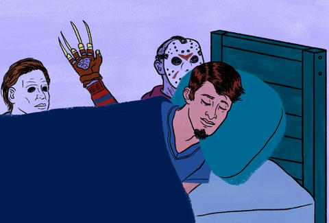 Horror Movie Illustration Thrillist