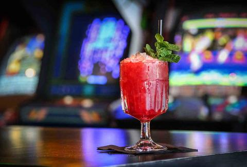 cocktail at a casino