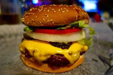 Motor City Sports Bar Burger