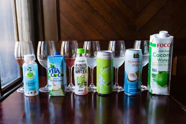coconut water tasting