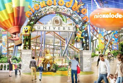 Nickelodeon Theme Park New Jersey
