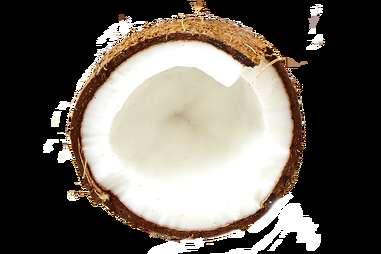Coconut Moscow Mule garnish