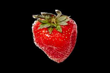 Strawberry Moscow Mule Garnish