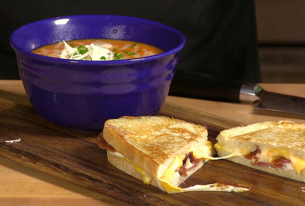 This Cheesy Tomato Soup Is the Destroyer of Colds