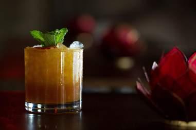 cocktail glam shot