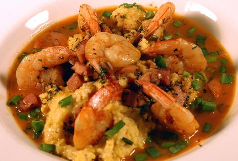The Grove Grill Memphis shrimp and grits