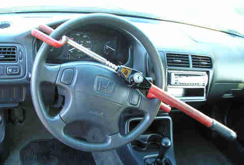 Steering Wheel Locking Device