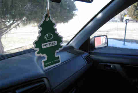 Air Fresheners don't do anything