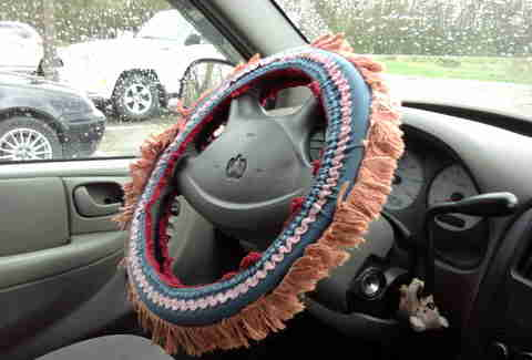 Steering wheel covers are sill ideas