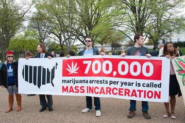 war on drugs protest
