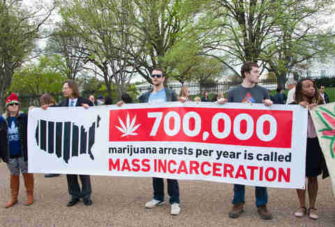 war on drugs protest