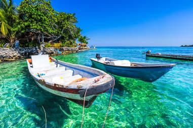 islas de rosario colombia