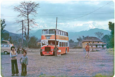 """The good old days on the """"Hippie Trail"""""""