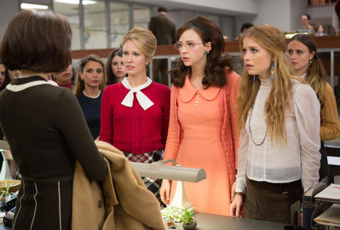 amazon prime good girls revolt anna camp genevieve angelson erin darke
