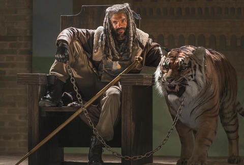 walking dead ezekiel tiger