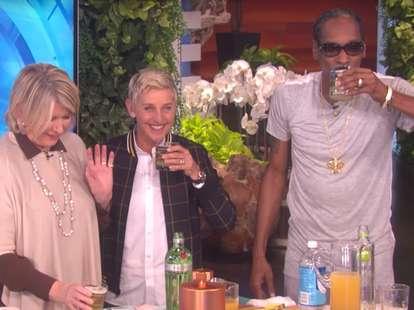 Martha Stewart, Snoop Dogg and Ellen Degeneres