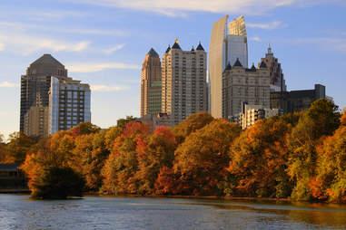Atlanta in the Fall