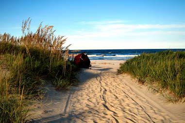 False Cape Landing Beach
