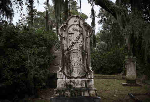 Bonaventure Cemetery in Savannah, Georgia