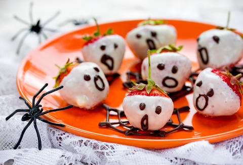 Spooky strawberries