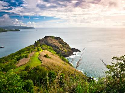 Pigeon Island National Park, St. Lucia