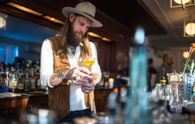 Damon Boelte on Pineapple Rum, Spicy Cocktails, and Motorcycle Preservation