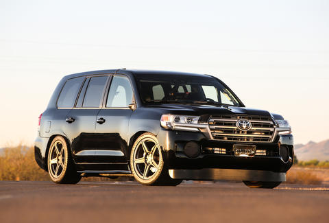 2000 hp Toyota Land Cruiser