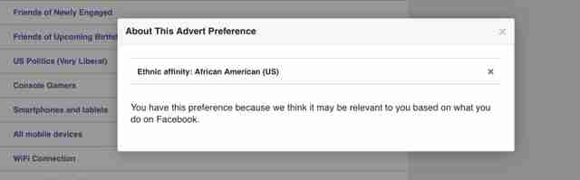 facebook ads preferences settings