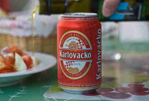 Croatian beer
