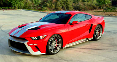 The GTT Mustang and Ford GT Homage