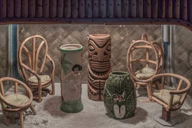 Pacific Seas tiki cups