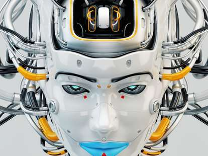 robot dolls