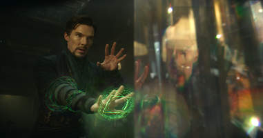 doctor strange action scenes