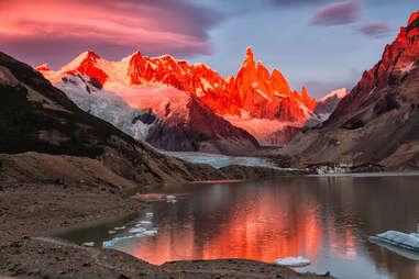 Cerro Torre peak