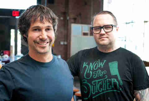 Ken Oringer and Jamie Bissonnette: Boston's Culinary Dream Team Plays at Home