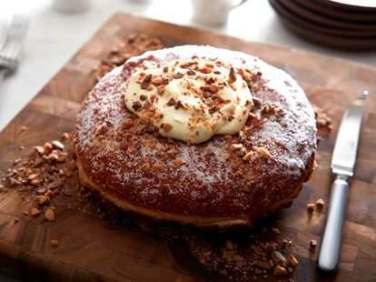 Stoke Charlotte doughnut