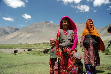 The people of the Wakhan