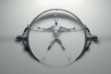 vitruvian man on hbo westworld