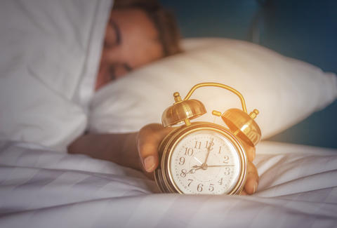 snooze button and sleep quality