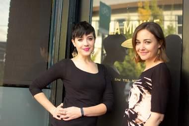 Bex Karnoskfi and Anna Moss