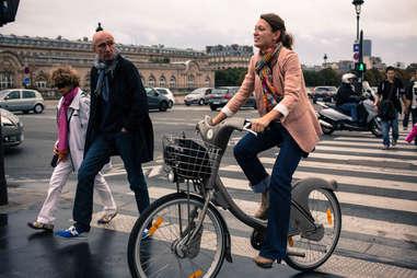 biking in france
