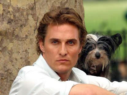 Matthew McConaughey Dog