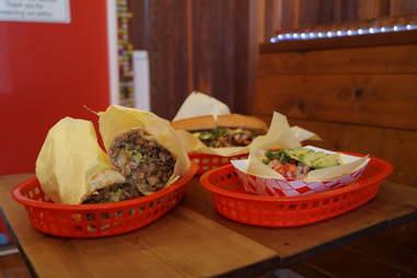 taco, burrito, torta