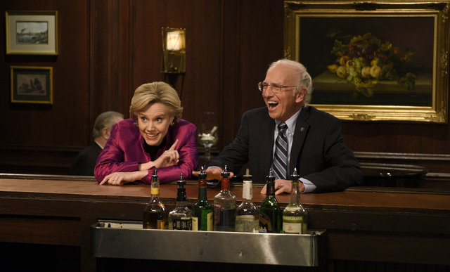 larry david, kate mckinnon, snl, saturday night live