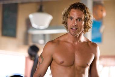 Surfer, Dude Matthew McConaughey