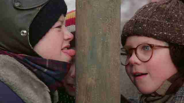 A Christmas Story Kid Wrapped Up.Best Christmas Movies Of All Time Ranked Thrillist