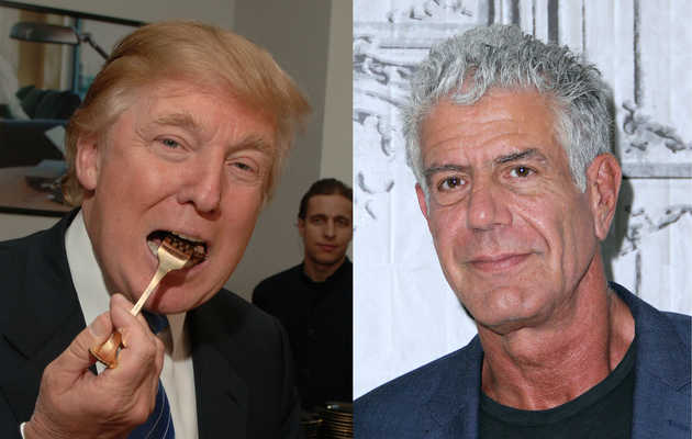 Anthony Bourdain Thinks Dining With Donald Trump Would Be 'F*cking Hilarious'