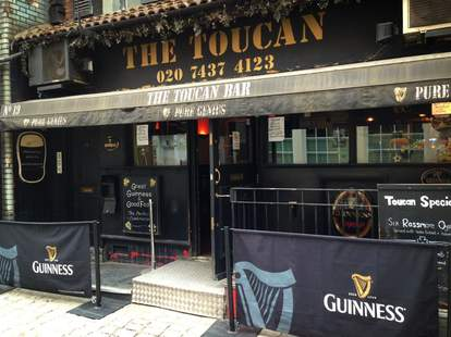 The Toucan Soho London Guinness beer