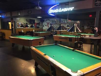 the back door louisville dive pool bar