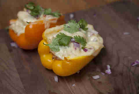These Chicken-Stuffed Peppers Are Flavor Bombs Waiting to Explode